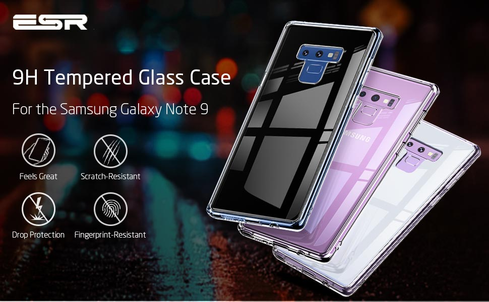note 9 glass case