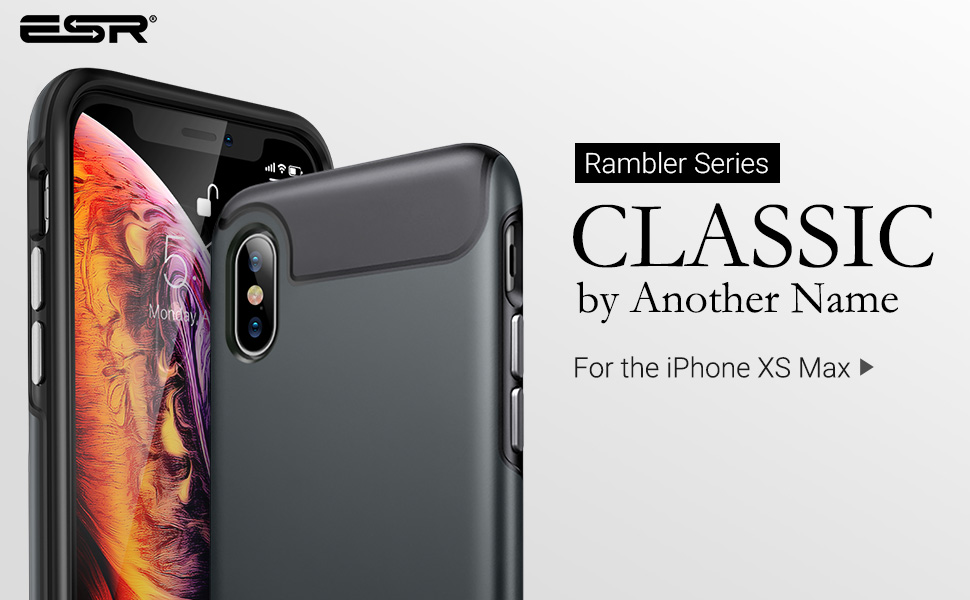 iphone xs max rambler case 2018 6.5 inch
