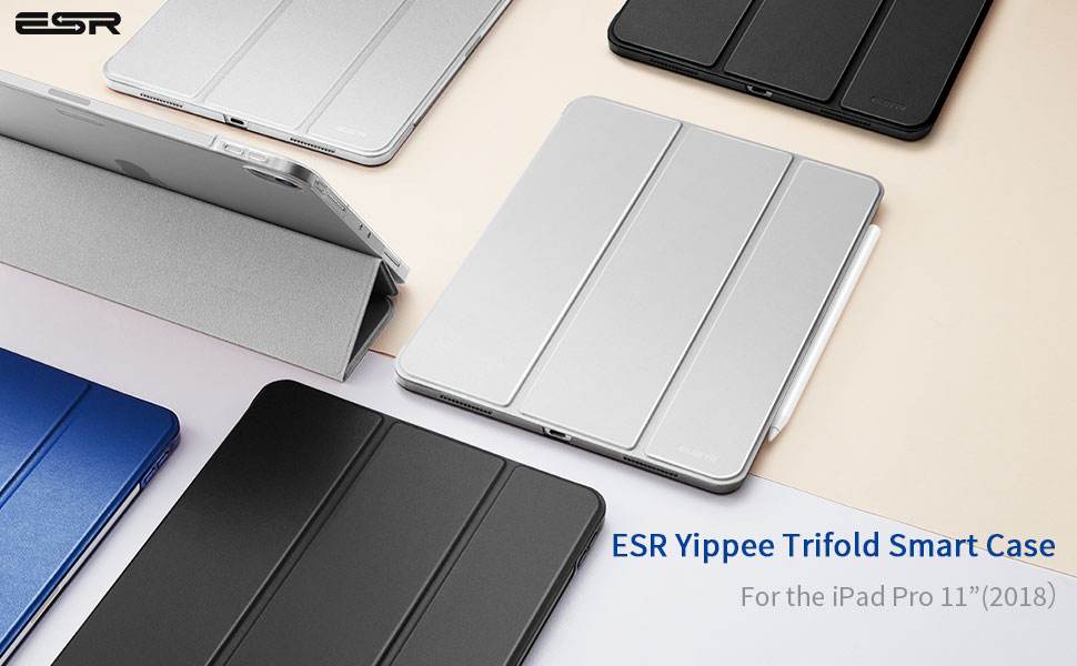 ESR trifold stand case for the ipad pro 11""