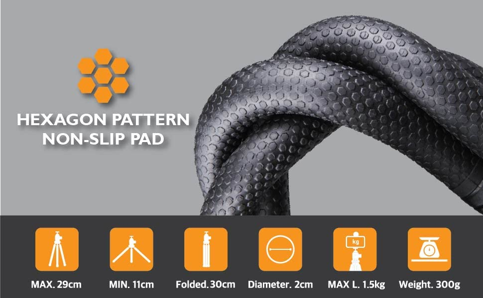 High quality rubber material makes foot grips non-slip and easily secure to any surface