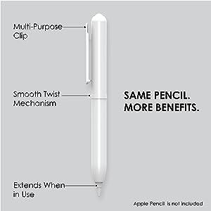Amazon Com Ztylus Apple Pencil Protective Case Built In