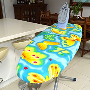 are you sick of paper thin ironing board covers that donu0027t last or fit your board the solution to these problemsthe ezy iron ironing board cover