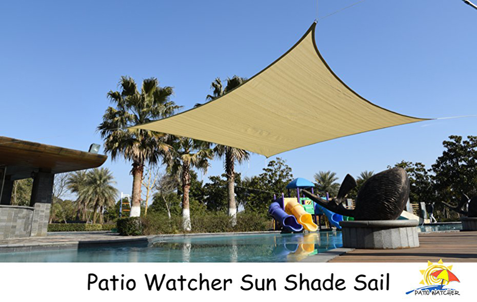 Fit Most Driveway Or Outdoor Living Space: Patio Watcher Shade Sail ...