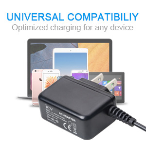 icv Micro USB Wall Charger 5V 2A Power Adapter with US Plug and Fixed Micro Cable for Samsung Galaxy S6 S5 S4 S3 S2 Si9003,S5820 N7100 Note3 Note4 ...