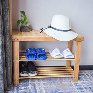 Multiple Purpose, The Bamboo Shoe Rack Is Suitable To Be Placed In The  Hallway, Living Room, Bedroom, Balcony, Porch, Garage, Cabinet Etc.