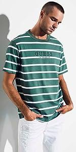 3d3ece267d83 GUESS Originals Striped Tee · GUESS Originals '81 Oversized Doheny Striped  Tee · GUESS Originals Oversized Sayer Striped Tee · GUESS Originals Ashton  ...