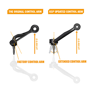 Extended Control Arm