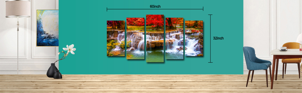 big pictures for living room wall