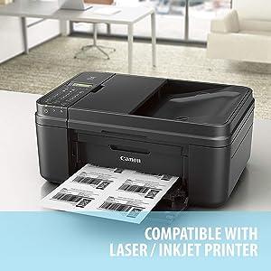 Amazon.com: Buhbo - Etiquetas adhesivas para impresoras ...