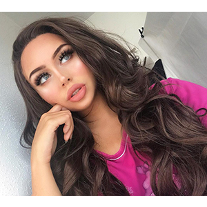 brown lace front wigs