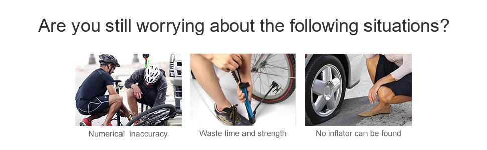 bike car tire air pump