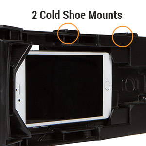 Filmmaking Case Smartphone Video Rig Kit for Apple iPhone, Android, Samsung or Any Mobile Phone