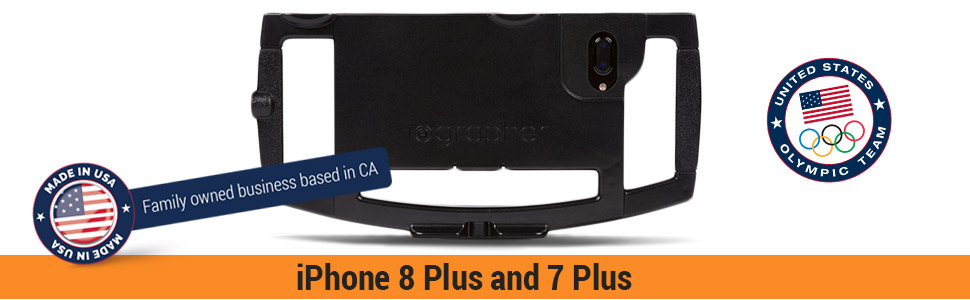 Filmmaking Case Smartphone Video Rig Kit for Apple iPhone 8 Plus and 7 Plus