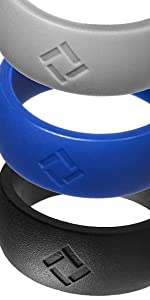 kauai silicone ring 3 pack
