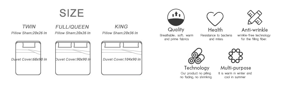Full Size duvet cover set