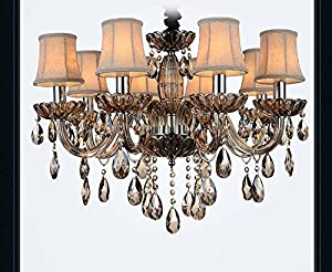 Amazoncom Fushing Pcs Chandelier Crystals Clear Teardrop - Used chandelier crystals