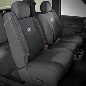 Superb Rough Country Neoprene Seat Covers Front Black Compatible W 1999 2006 Chevy Silverado 1500 91013 Water Resistant Machost Co Dining Chair Design Ideas Machostcouk