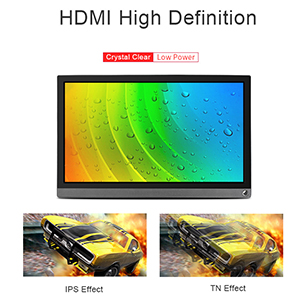 Amazon.com: Waveahre - Carcasa y monitor HDMI de 15,6 ...