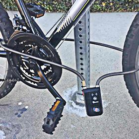 Amazon.com: NUNET - Candado para bicicleta, Bluetooth, con ...