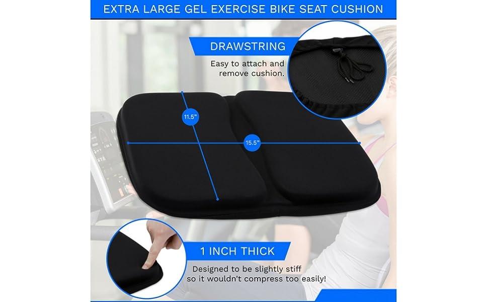 Amazon Com Domain Cycling Extra Large Gel Exercise Bike