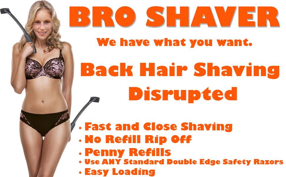 bro shaver original planets best back shaver trimmer