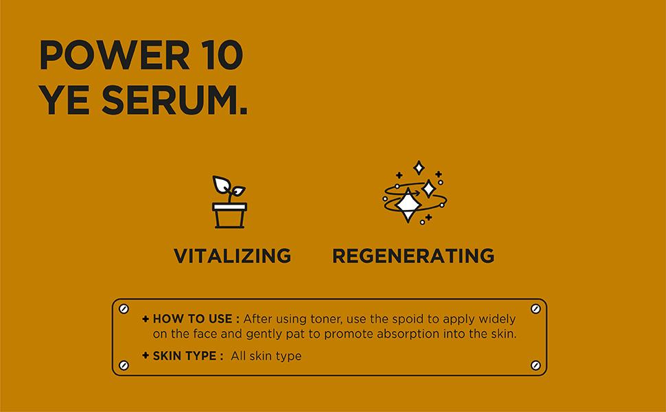 [ IT'S SKIN ] Power 10 Formula YE Effector Serum - Cilt Canlılığı ve Onarımı