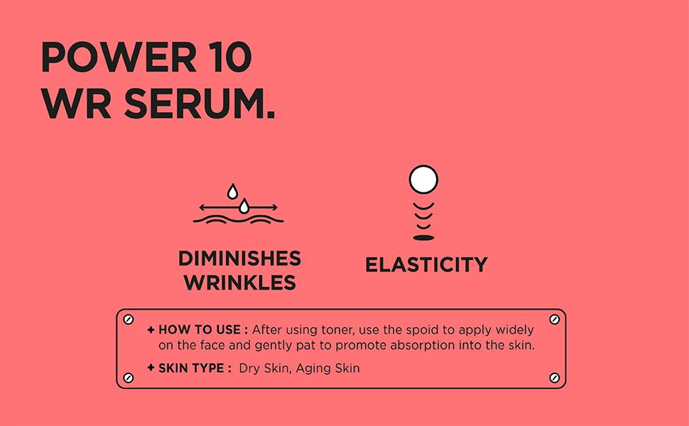[ IT'S SKIN ] Power 10 Formula WR Effector Serum - Kırışıklık ve Cilt Esnekliği