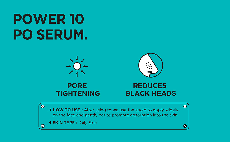 [ IT'S SKIN ] Power 10 Formula PO Effector Serum - Gözenek Sıkılaştırıcı ve Siyah Nokta Engelleyici