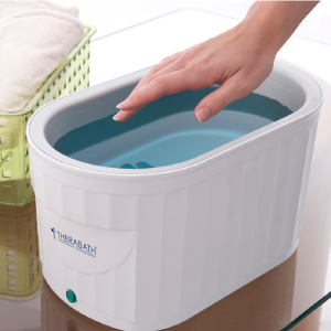 Therabath, paraffin, wax, bath, thermotherapy, body, hands, face