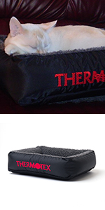 thermotex, heating pad, pet, small, cat, dog, therapy, far infrared