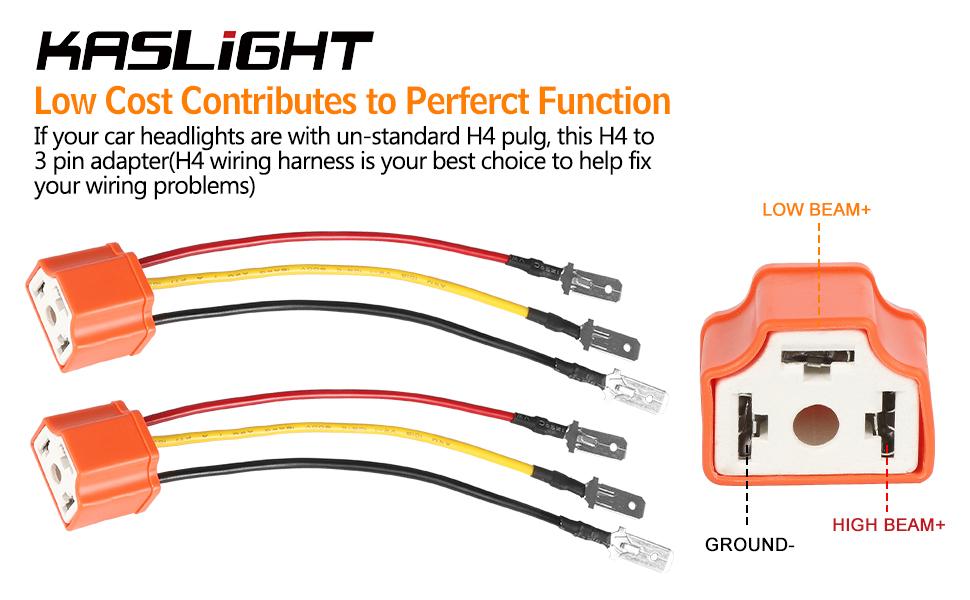 H4 Wire Harness | Wiring Diagram H Halogen Headlight Wiring Diagram on