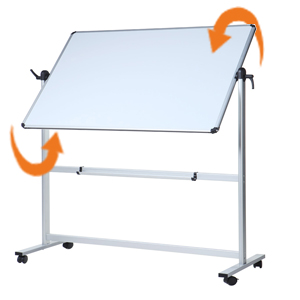 Amazon.com: VIZ-PRO - Pizarra blanca magnética de doble cara ...