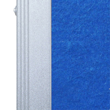 Silver finished aluminium frame, sturdy and durable