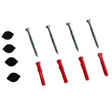 Easy installation wall fixing kit included