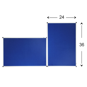 """Flexible to Mount Vertically or Horizontally  Overall size: 36"""" x 24"""" ( frame included) surface"""