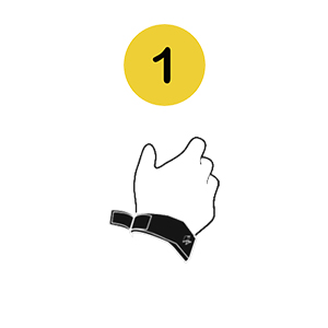step 1 wear pavlok on wrist