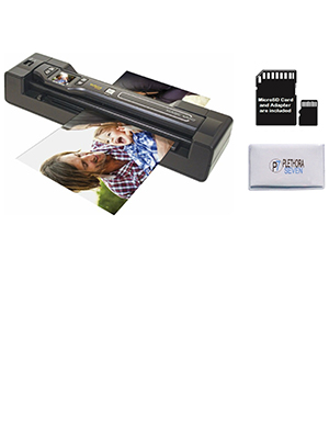 Amazon Com Vupoint St470 Magic Wand Portable Scanner W Auto Feed Docking Station Black Renewed Office Products