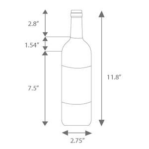 Wine Bottle Dimensions - Water Bottle Labels