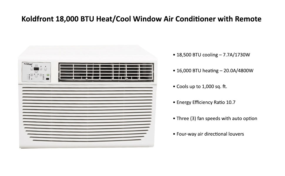 amazon com  koldfront wac18001w 18 500 btu 208  230v heat