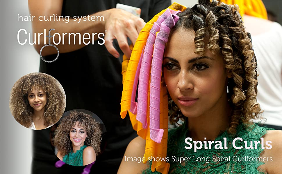 Curlformers Spiral Curls Styling Kit for Medium Hair