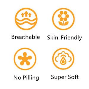breathable skin-friendly no pilling super soft unicorn bedding for girls