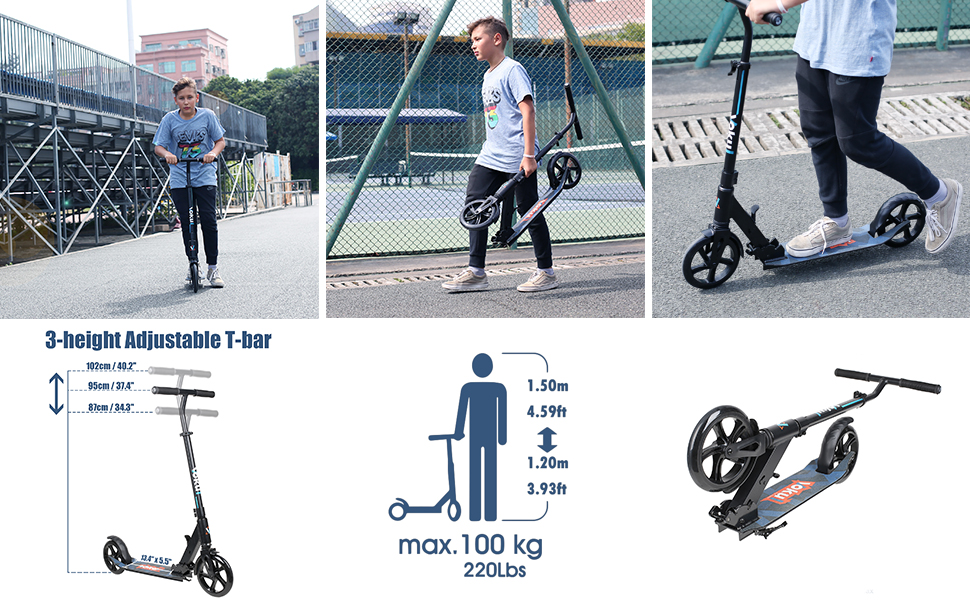 High Performance Foldable Scooter