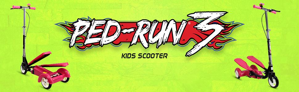 Amazon.com: Ped-Run3 - Patinete infantil para niños y niñas ...