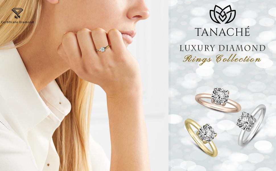 diamond color rings