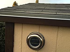 Eco Worthy Solar Powered Attic Fan Solar Venting Stainless