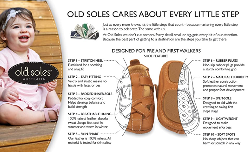 Amazon.com   Old Soles Boy's and Girl's Global Shoe Leather Hook ...