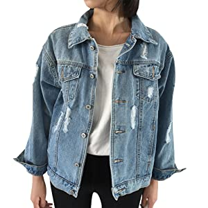 Blue Fashion Denim Jacket