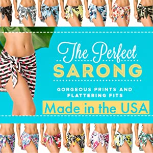 ebe38a66a6e72 sarong cover up pareo beach wrap pool skirt bikini sexy cover up tropical beachwear  women s bathing