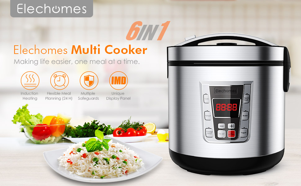 Amazon.com: Rice Cooker 12-Cups uncooked Multi-Cooker