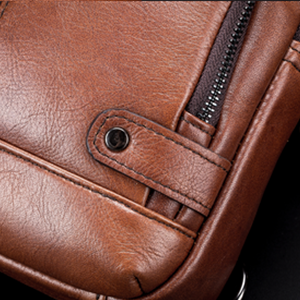 sling bag for men genuine leather